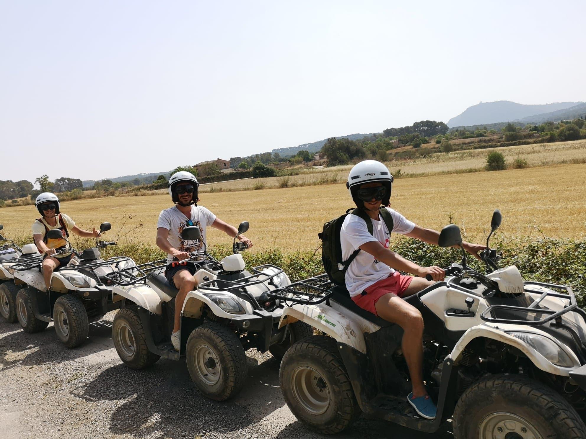 quads à Majorque