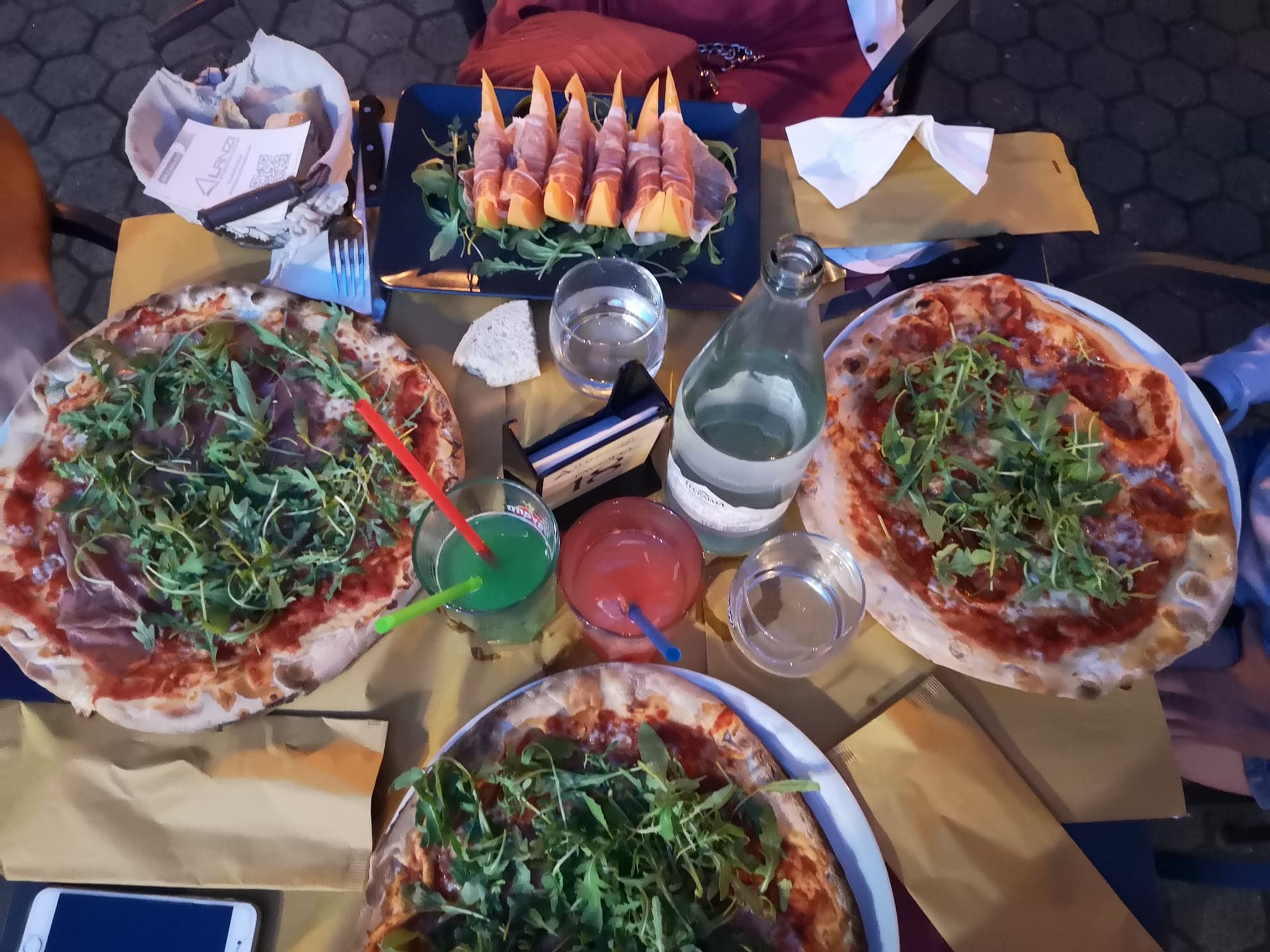 Dégustation Pizzas en Italie
