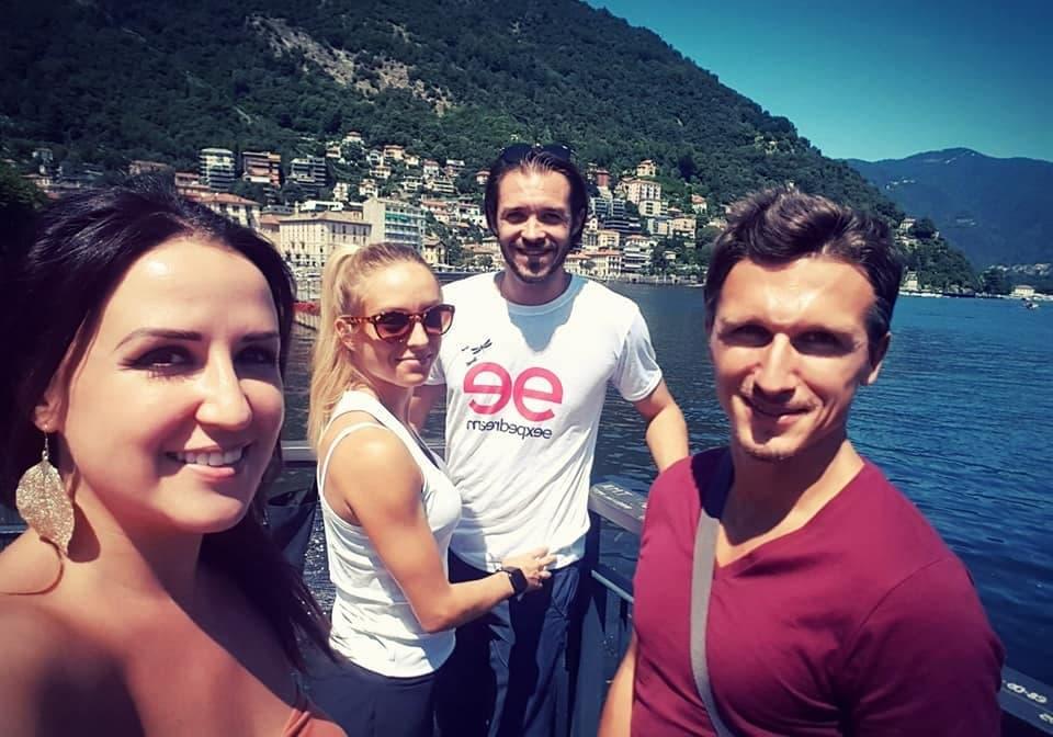 Photo de notre groupe pour l'Italie