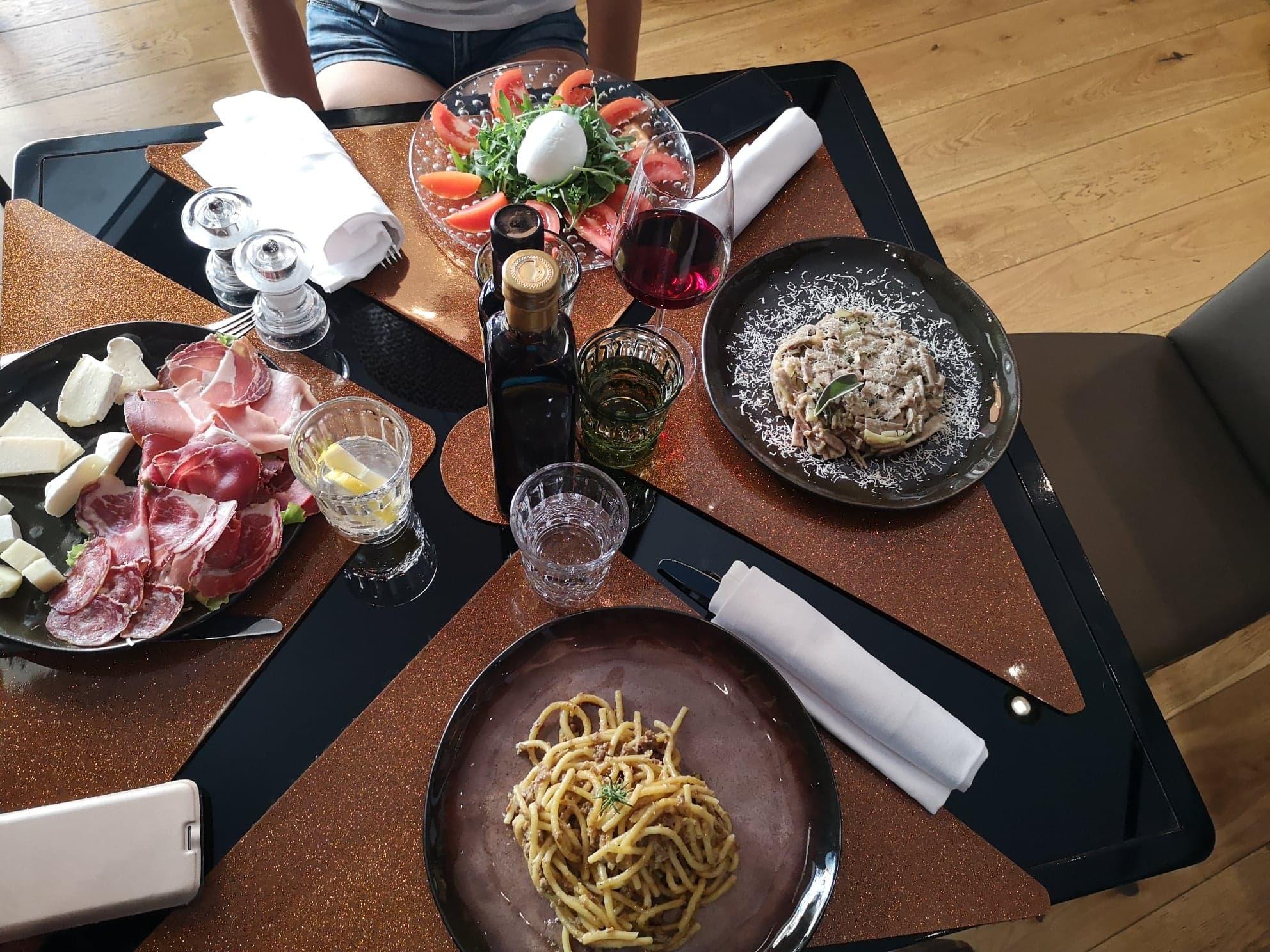 Dégustation Pasta en Italie