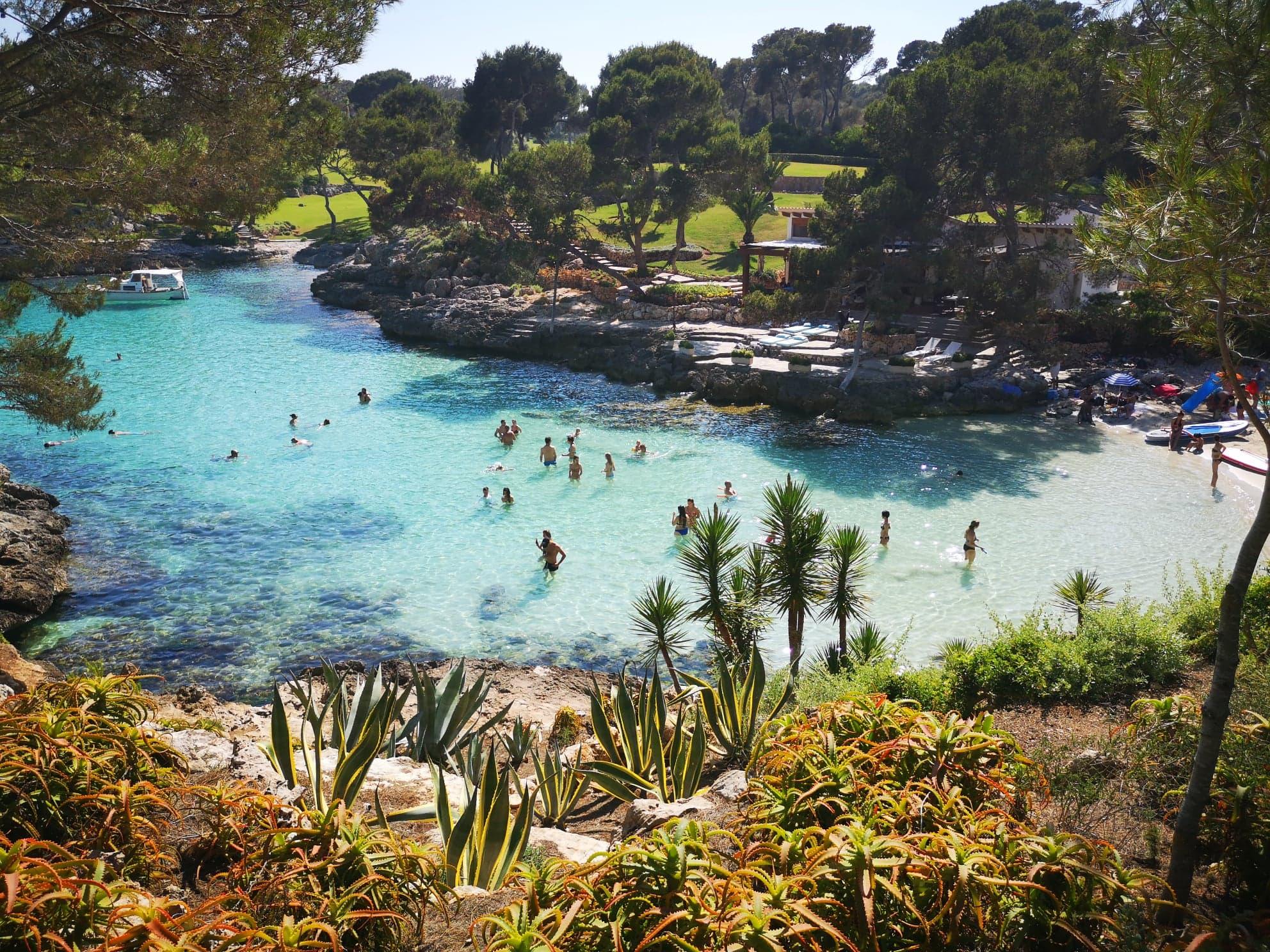 Cala Mitjana, Majorque