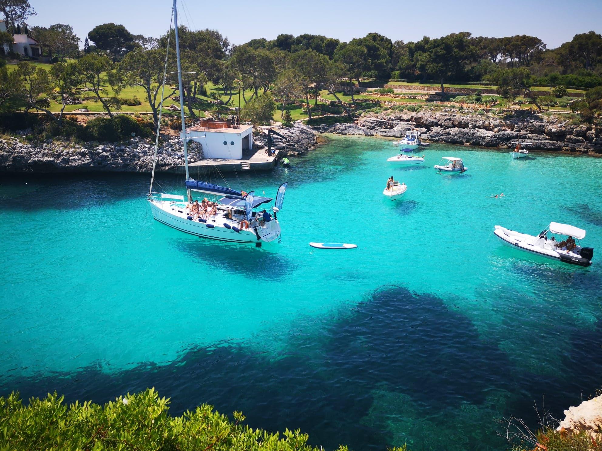 Cala Mitjana, la plus belle crique de Majorque