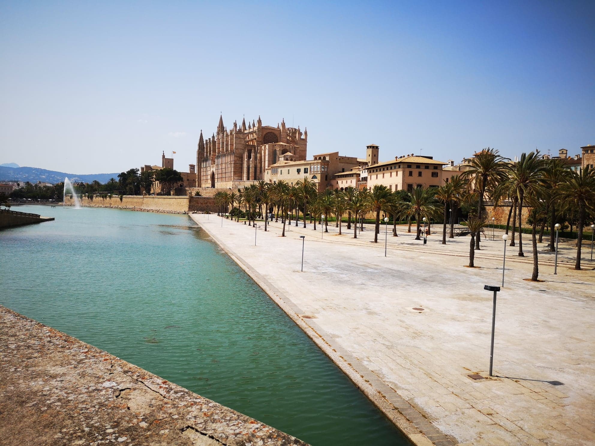 Cathédrale de Palma à Majorque