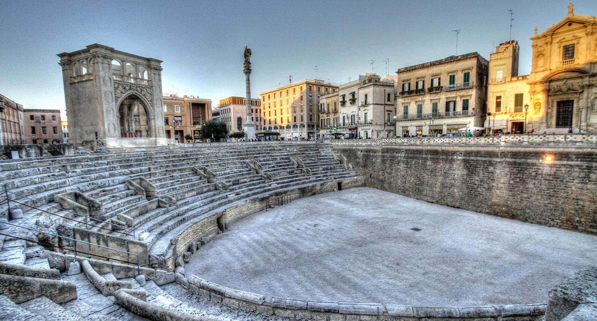 La célèbre place de Lecce