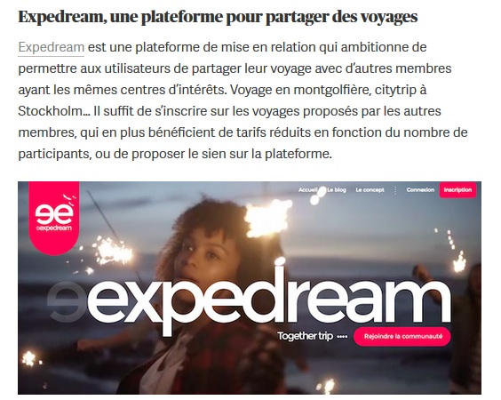 Article Expedream