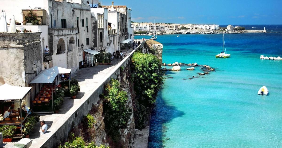 La charmante ville d'Otrante